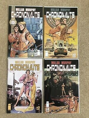 Chrononauts - 1-4 Set - Mark Millar - Sean Murphy