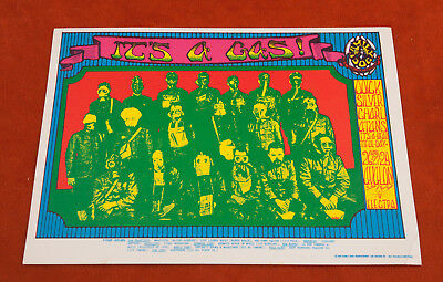 It's a Gas Quicksilver Messenger Service Bill Graham Family Dog Postcard (A3L)