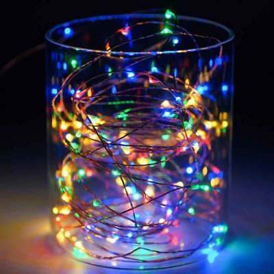 10M 100LED USB Waterproof Fairy Lights Copper Wire String Light Party Decor Lamp