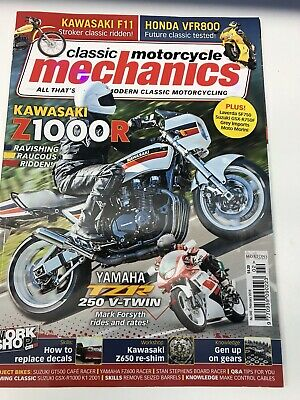 Classic Mototcycle Mechanics Feb 2016 Magazine