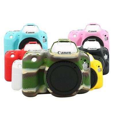 Camera Soft Silicone Rubber Protector Skin Case Body Cover For Canon EOS 200D