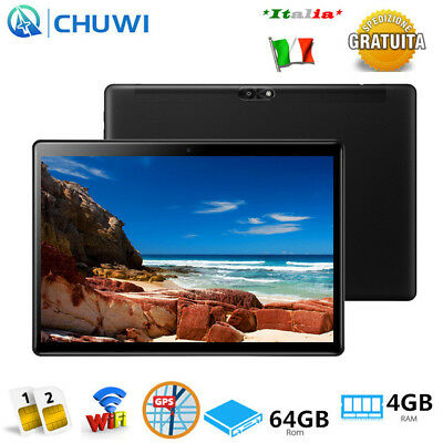 "WiFi BT NUOVO CHUWI Hi9 Air 10.1""Android 8.0 64GB 8000mAh 4G Tablet PC Cellulare"