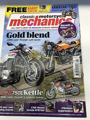 Classic Motorcyclr Mechanics August 2016 Magazine