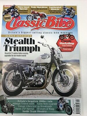 Classic Bike Magazine Feb 2018