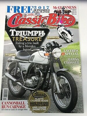 classic bike magazine December 2016