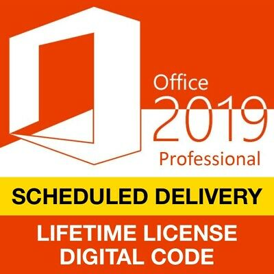 Microsoft Office 2019 Professional Pro Plus 1PC Genuine Key and Download Link