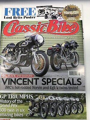 classic bike magazine July 2016