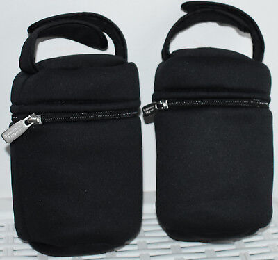 Tommee Tippee Insulated Milk Bottle Carriers 2 Bags Baby Infant Toddler Warmer