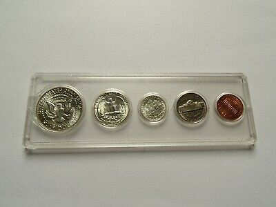 1964 USA Year Set w/ Silver Half Dollar, Quarter, Dime
