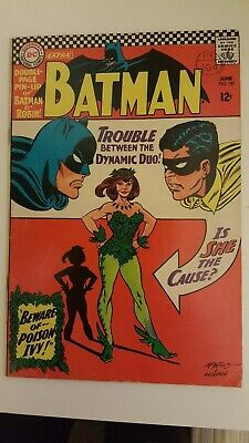 Dc Batman 181 (1St Poison Ivy) With Poster