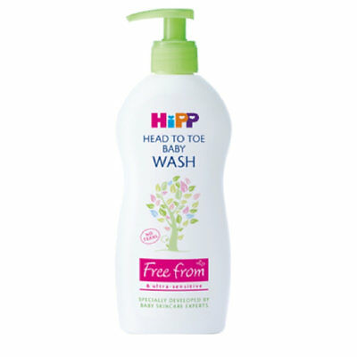2 x Hipp Head To Toe Baby Wash 400ml