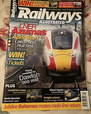 Railways Illustrated April 2019 - Latest Issue