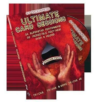 Ultimate Card Sessions Volume 2 - Magic Tricks