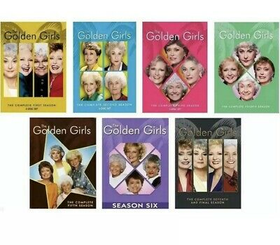 The Golden Girls Complete Series Seasons 1-7 DVD (21-Discs) 1, 2, 3, 4, 5, 6, 7