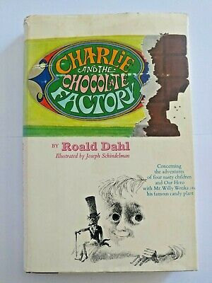Charlie and the Chocolate Factory by Roald Dahl 1964 Book First Edition HC DJ