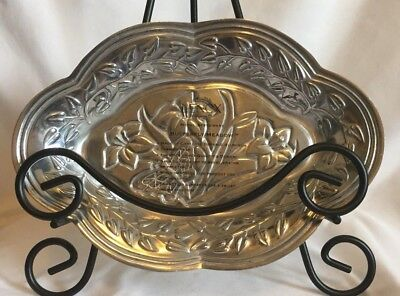 Lenox Butterfly Meadow Metal Serveware Tray 9""