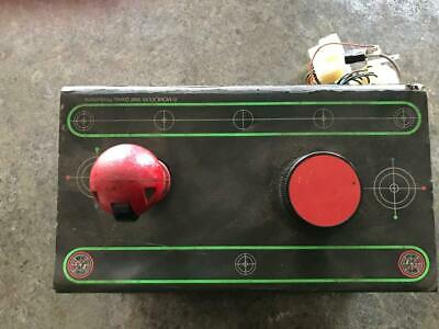 Tron Bally Midway Video Game Control Panel/Cocktail Game w/spinner Joystick Asis