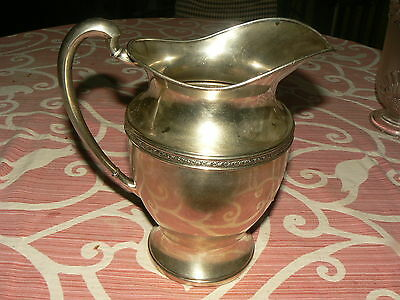 Silverplate Friedman Silver Co. Water Pitcher 2 Qt. E.P.N.S #5576 Nice