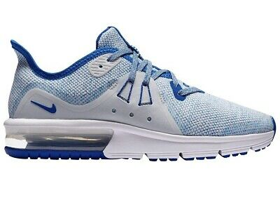 huge selection of 935eb ca1c7 NEW NIKE AIR MAX SEQUENT 3 GS Youth Size 5Y Training Shoes Blue Gray