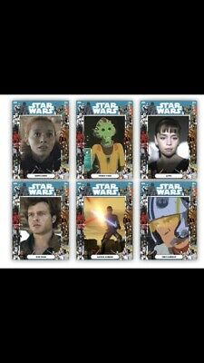 topps star wars card trader forever Full Set With The 3 Awards