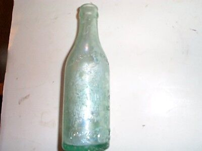 1st bottler Coca Cola SCRIPT Crown top Bottle Biedenharn Candy Co Vicksburg Miss