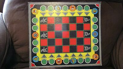 1940 Dsiney's Game Parade Tortoise and the Hare game board awesome design!