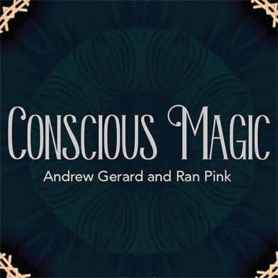 Conscious Magic Episode 1 and 2 DVD's combo pack by Andrew Gerard and Ran Pink