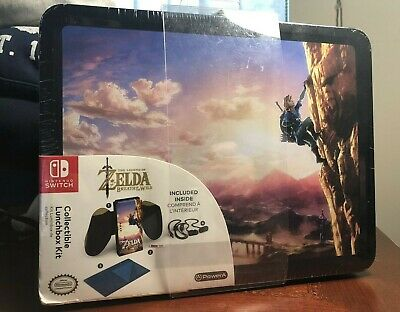 Legend of Zelda Breath of The Wild Collectible Lunchbox Kit for Nintendo Switch