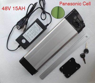 SILVER FISH PANASONIC ebike lithium electric battery 48v