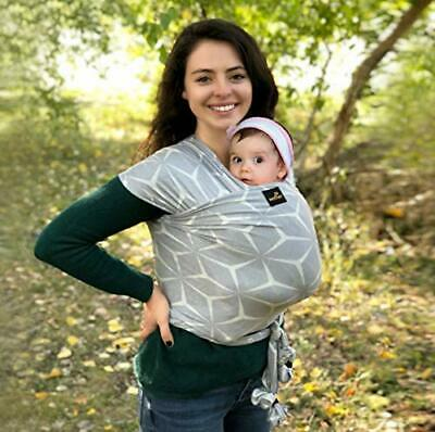 Sweetbee Natural & Breathable My Honey Wrap Lightweight Baby Carrier Sling