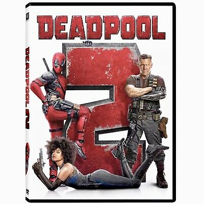 Deadpool 2 DVD New & Factory Sealed Free First Class Shipping Included!