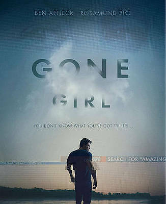 Gone Girl: Blu-Ray + Digital Hd- And Amazing Amy Book - Brand New&factory Sealed