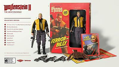 Wolfenstein II 2: The New Colossus Collector's Edition - Sony PlayStation 4 PS4