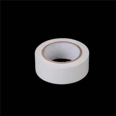 1Pcs PVC Electricians Electrical Insulation Tape White 0.2mmx19mmx10M MRYFWYB