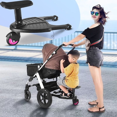 Stroller Auxiliary Pedal Second Child Artifact Trailer  Cart Plate Sitting Seat