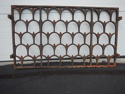 Wrought Iron Section vintage antique