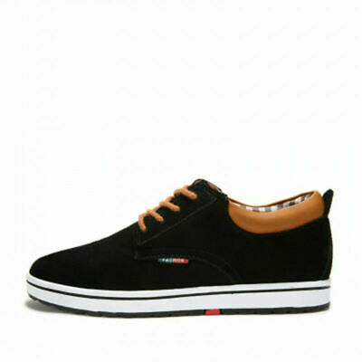 8cm Taller Height Increasing Shoes Canvas Elevator Shoes CNDX