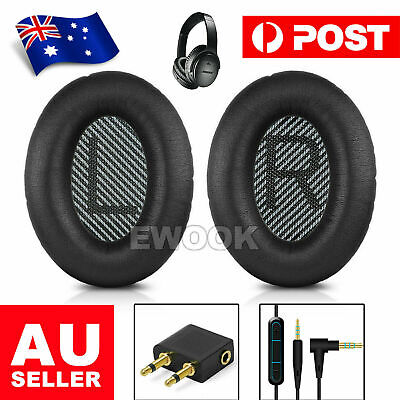 Replacement Ear Pads WIRE Audio Cable for Bose® QC35 II QC25 QC15 AE2 AE2I AE2w