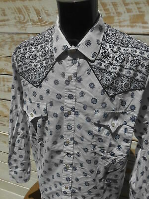 8f6afb1f9a062 VINTAGE 80S CHEMISE Shirt Camisa Made in France Pearl Nacre Provence ...