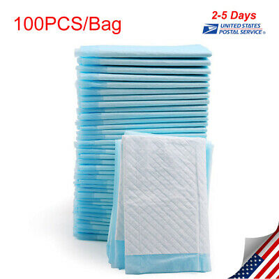 """*US* 13x18"""" 100Pcs Cheap Puppy House Breaking, Training, Pee Pads/Underpads"""