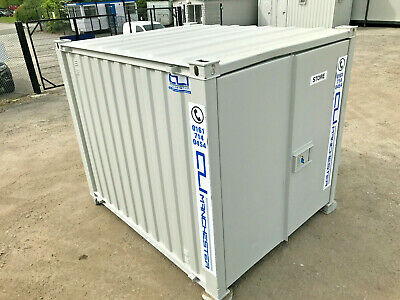 10ft x 8ft - Storage Container   Shipping Container   Steel Store   Refurbished