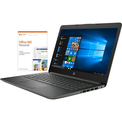 "HP 14-cm0981na 14"" Laptop includes Office 365 Personal 1-year subscription with"