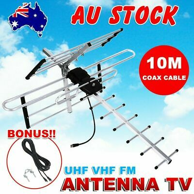 Digital Outdoor TV Antenna UHF VHF FM 4 AUSTRALIAN conditions Country Areas New