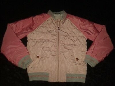 Girls Age 7-8 Years Pink  Faux Fur Lined Jacket George
