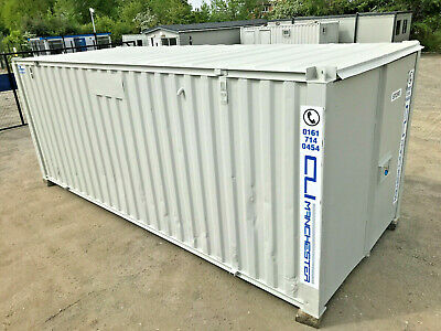 21ft x 8ft - Storage Container   Shipping Container   Steel Store   Refurbished