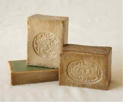 100% Syrian Aleppo Soap made from Olive Oil and Laurel Bay Oil (5% & 40% Laurel)