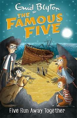 Five Run Away Together: Book 3 by Enid Blyton (Paperback, 2017)-G048