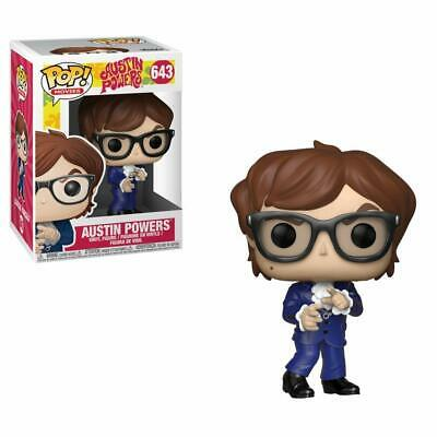Movies #643 Figur Funko Aufsteller & Figuren Action- & Spielfiguren Austin Powers Red Suit Mike Myers Spy Spion Pop