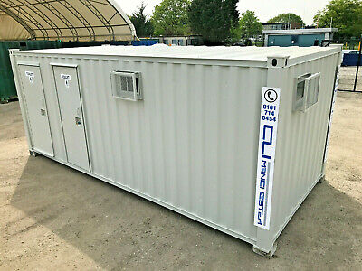21ft x 9ft - Anti Vandal 3+1 Toilet Block | Male & Female | Fully Refurbished