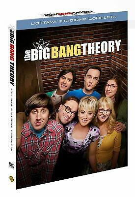 The Big Bang Theory - Stagione 8 (Dvd) Nuovo Originale e sigillato